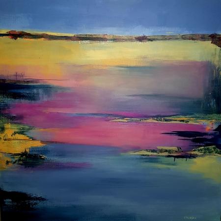 peintures acryliques