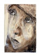 tableaux, peintures, acrylique, enfants, toile, émotion, sentiments