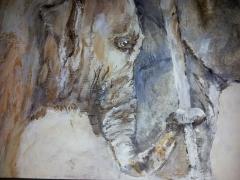 sculptures, terre, bois, métal, patine,bronze,platre, panda, ours, panthere, lion,lionne,animalier, tigre, lion, chimpanzé, matière, tableaux , acrylique, huile