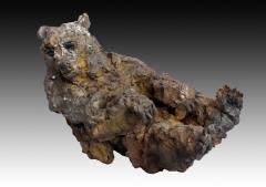 sculptures, terre, bois, métal, patine,bronze,platre, panda, ours, panthere, lion,lionne,animalier, tigre, lion, chimpanzé, matière,